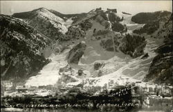 Ski Courses and Chair Lift - Aspen - F.I.S. Races 1950