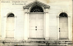 Baptist Church - Entrance