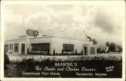 Barboul's For Steaks and Chicken Dinners, Greyhound Post House