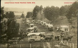 Trade and Festival - Gathering of Wagons at Prairie Farm