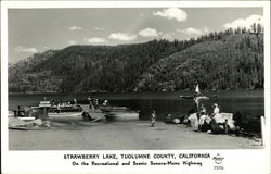 Strawberry Lak, Tuolumne County, California - On the Recreational and Scenic Sonora-Mono Highway