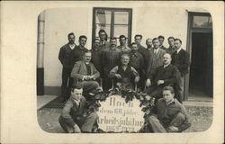 Celebrating 60 Years 1869-1929 - Taken at the Rotschield Location