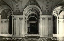 The Library of Congress - Entrance, Reading Room