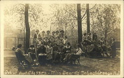 Miss Beard's School - Out of Door Classes