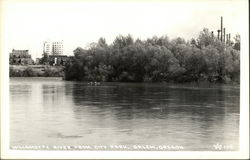 Willamette River from City Park