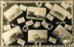 A Decorated Collection of Recieved Postcards