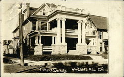 William Childs Residence Postcard