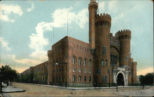 13th Regiment Armory Brooklyn New York