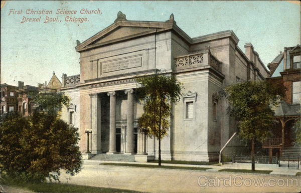 First Christian Science Church, Drexel Boulevard Chicago Illinois