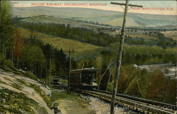 Incline Railway, Uncanoonuc Mountain Manchester New Hampshire