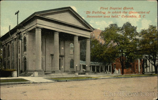 First Baptist Church Columbia South Carolina