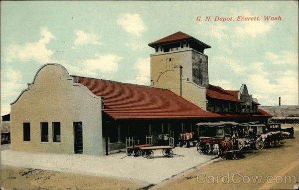 G. N. Depot Everett Washington