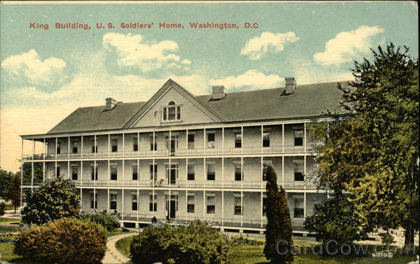 King Building, U.S. Soldiers' Home Washington District of Columbia