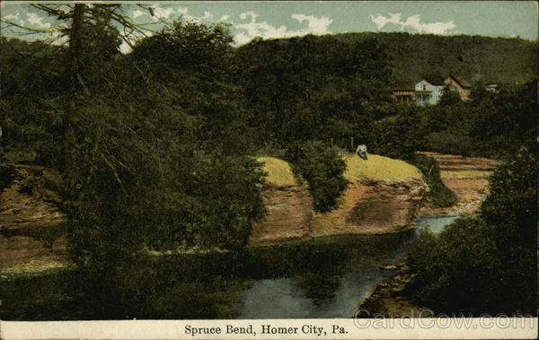 Spruce Bend Homer City Pennsylvania