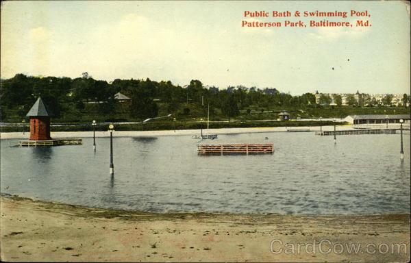 Public bath swimming pool patterson park baltimore md for Swimming pools in baltimore county