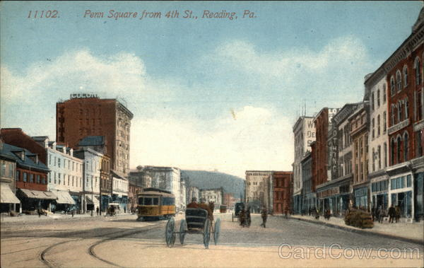 Penn Square from 4th Street Reading Pennsylvania