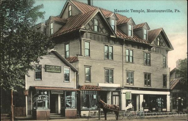 Masonic Temple Montoursville Pennsylvania