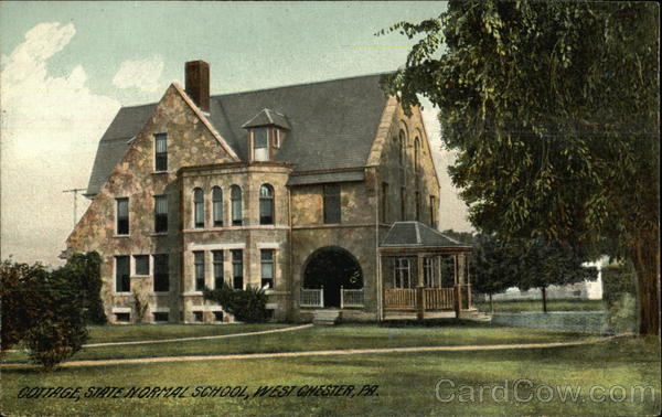 State Normal School - Cottage West Chester Pennsylvania