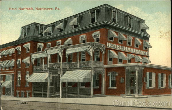Hotel Hartranft Norristown Pennsylvania