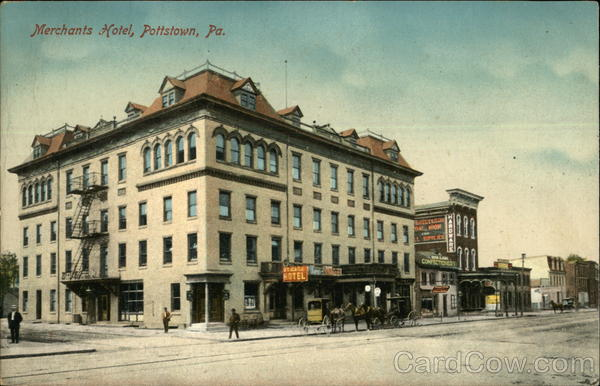 Merchants Hotel Pottstown Pennsylvania