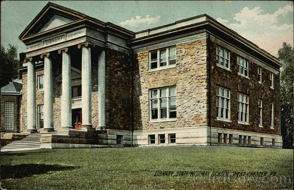 State Normal School - Library West Chester Pennsylvania