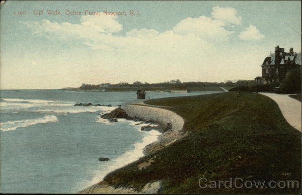 Cliff Walk, Ochre Point Newport Rhode Island