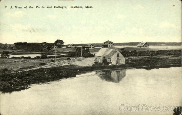 Ponds and Cottages Eastham Massachusetts