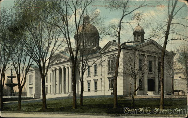 Court House Kingston Canada Ontario