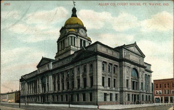 Allen County Courthouse Fort Wayne Indiana