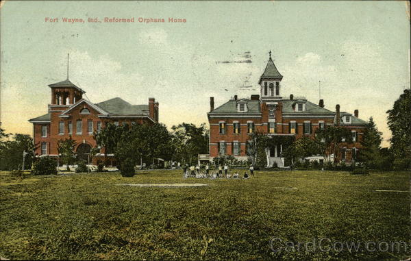 Reformed Orphan Home Fort Wayne Indiana