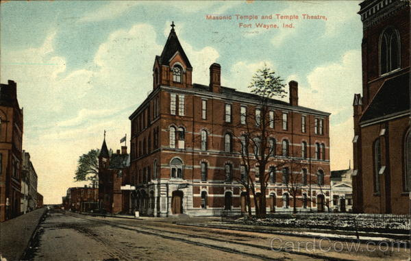 Masonic Temple and Temple Theatre Fort Wayne Indiana