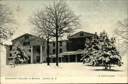 Davenport College in Winter