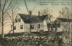 The Old Oaken Bucket and Home of Samuel Woodsworth, the Author