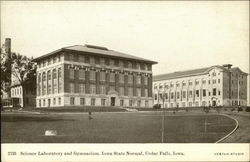 Science Laboratory and Gymnasium, Iowa State Normal
