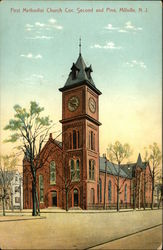 First Methodist Church at Corner of Second and Pine