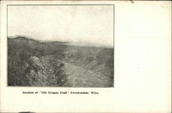 Section of Old Oregon Trail