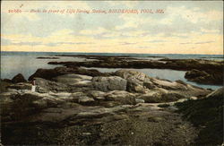 Rocks in Front of Life Saving Station, BIddeford Pool