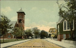 Blackstone Street and Churches