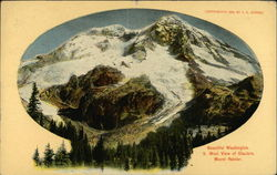 South West View of Glaciers, Mount Rainier