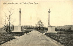Valley Forge Park - Gateway-Entrance