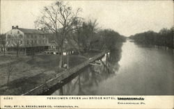 Perkiomen Creek and Bridge Hotel