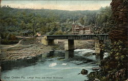 Lehigh River and Hotel Wahnetah Postcard