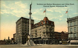 Soldiers and Sailors Monument, and Allen Hotel