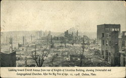 After the Big Fire of Apr. 12, 1908