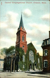 Central Congregational Church Postcard