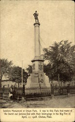 Soldiers Monument at Union Park