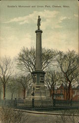 Soldiers Monument and Union Park