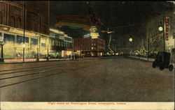 Night Scene on Washington Street