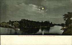 Moonlight onthe St. Joe River at Robison Park
