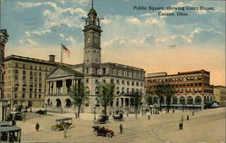 Public Square showing Court House